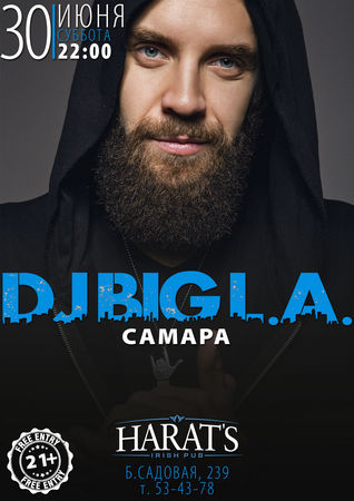 Rock-DJ Big L.A.