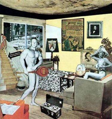 Ричард Гамильтон «Так что же делает наши сегодняшние дома такими разными, такими привлекательными?»